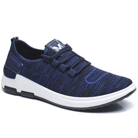 Comfortable and Breathable Net Cloth Shoes - BLUE 43