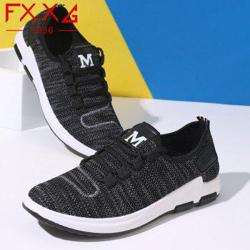 Comfortable and Breathable Net Cloth Shoes - BLACK 41