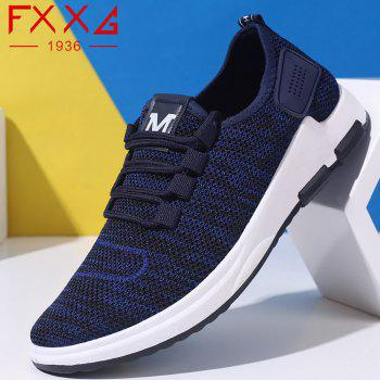 Comfortable and Breathable Net Cloth Shoes - BLUE 44