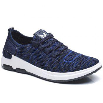 Comfortable and Breathable Net Cloth Shoes - BLUE BLUE