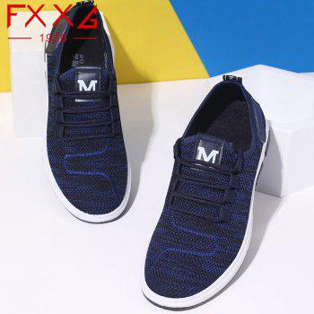 Comfortable and Breathable Net Cloth Shoes - BLUE 42