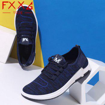 Comfortable and Breathable Net Cloth Shoes - BLUE 38