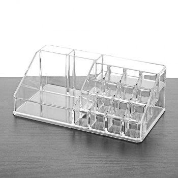 The Desktop Cosmetics Collection Box - TRANSPARENT 1PC