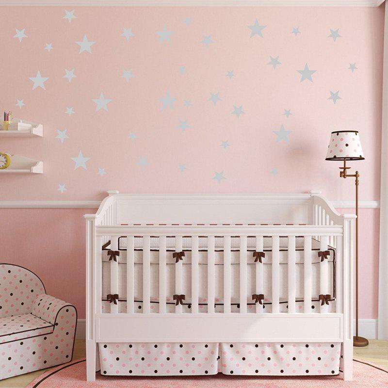 2018 Stars Pattern Vinyl Wall Art Decals Nursery Room Decoration