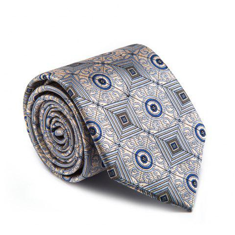 New Fashion Fine Men Tie Personalized High Quality Business Necktie Accessory - GRAY