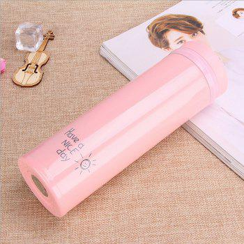 Women Portable Lovely Vacuum Cup Korean Edition Thermos - PINK 500ML