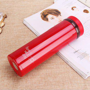 Women Portable Lovely Vacuum Cup Korean Edition Thermos - RED 500ML