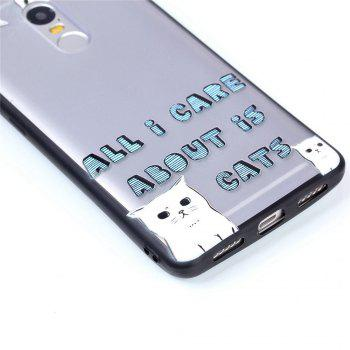 Cover Case for Huawei P8 Lite 2017 Relievo Cat Soft Clear TPU Mobile Smartphone Cover Shell Case - COLOUR