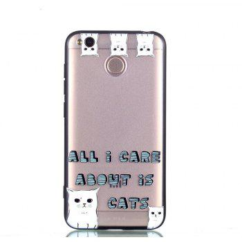 Cover Case for Huawei P9 Lite Relievo Cat Soft Clear TPU Mobile Smartphone Cover Shell Case - COLOUR