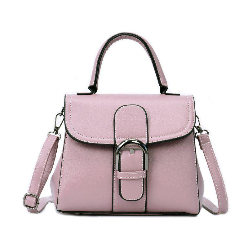 Fashion Saddle Bag Wild Shoulder Messenger Bag - PINK