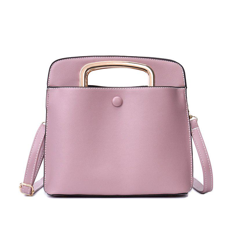 Fashion Handbag Female Wild Diagonal Shoulder Bag - PINK