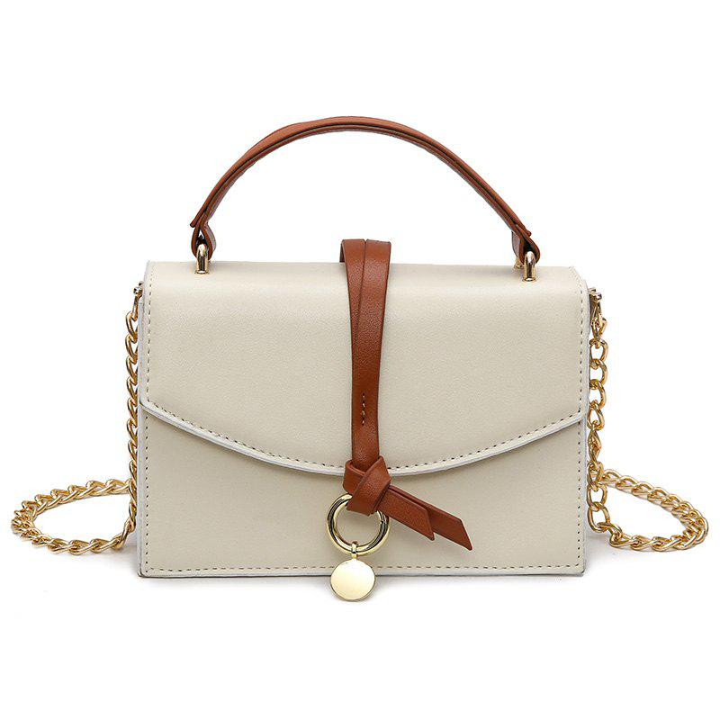 Wild Hand Side Small Bag Shoulder Messenger Bag - BEIGE