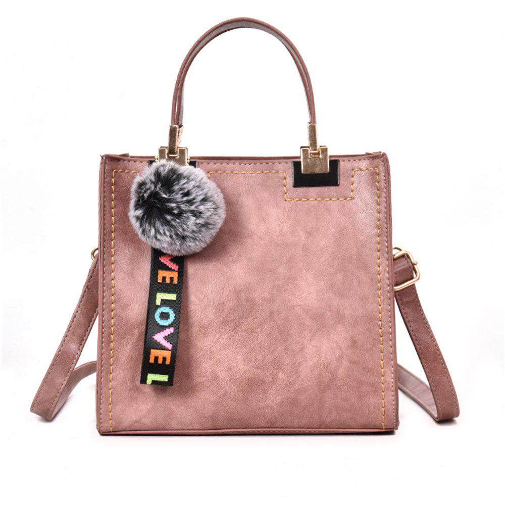 Female Fashion Wild Casual Handbag Shoulder Messenger Bag Packet - PINK