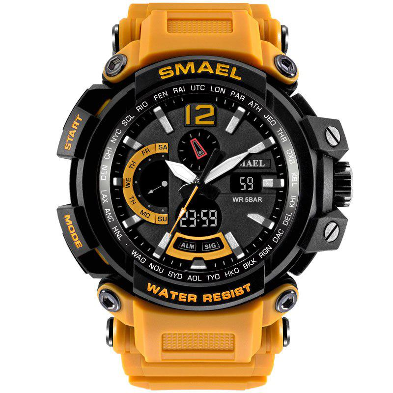 SMAEL 1702 Cool Multi-function Waterproof Electronic Watch - ORANGE