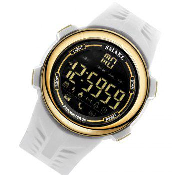 SMAEL 1703 Cool Multi-function Waterproof Electronic Bluetooth Watch - WHITE