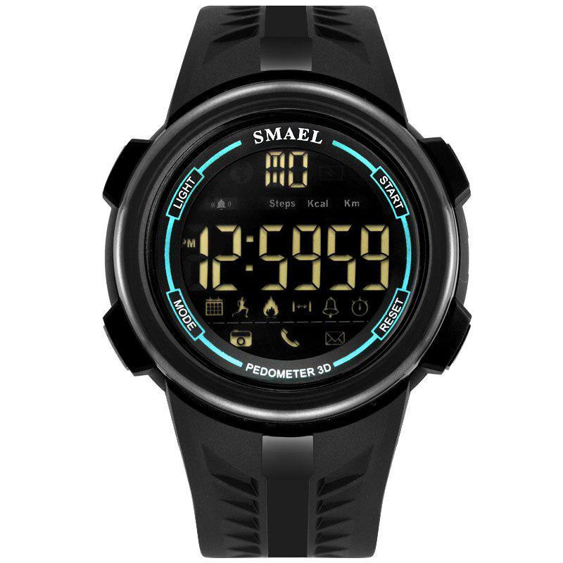 SMAEL 1703 Cool Multi-function Waterproof Electronic Bluetooth Watch - BLUE