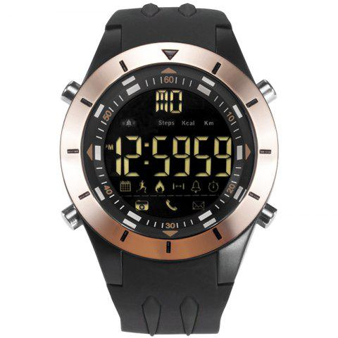 SMAEL 8002 Fashion Multi-function Waterproof Sport Electronic Watch - BLACK