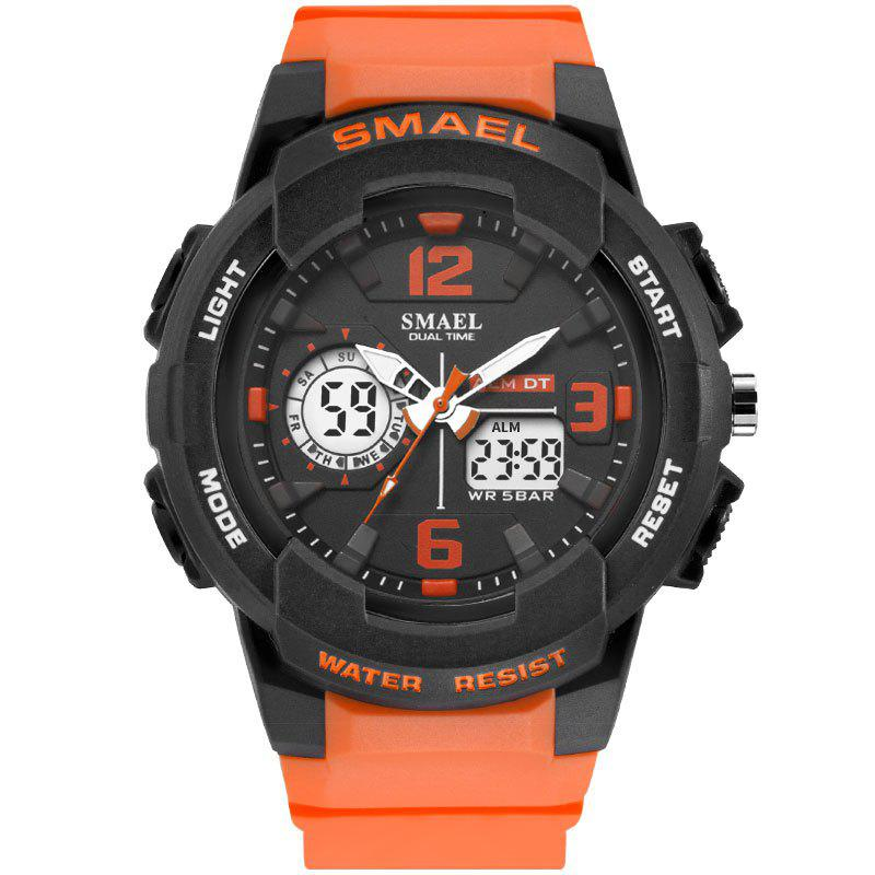 SMAEL 1645 Multi-function Waterproof Sport Electronic Watch - ORANGE