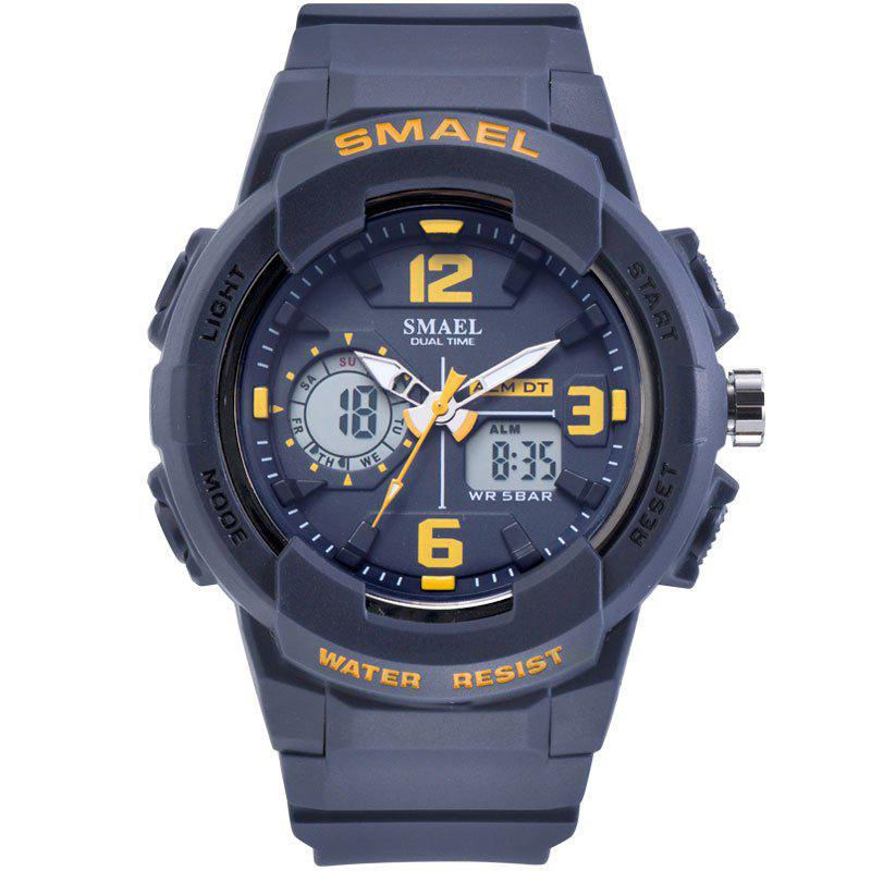 SMAEL 1645 Multi-function Waterproof Sport Electronic Watch - BLUE