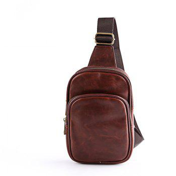 Leather Waist Pack Men s Small Crossbody