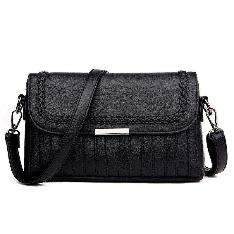 Mother Joker Messenger Bag - BLACK