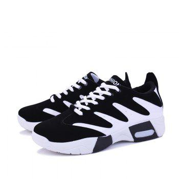 Spring Style Breathable Men's Outdoor Shoes - WHITE 40