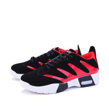 Spring Style Breathable Men's Outdoor Shoes - RED 40