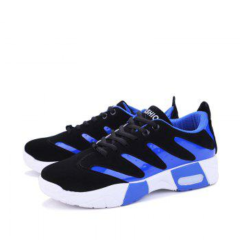 Spring Style Breathable Men's Outdoor Shoes - BLUE 40