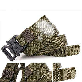 Men Tactical Cobra Deduction Outside The Belt Nylon Outdoor Training Belt - ARMYGREEN