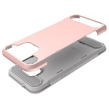 Pour Samsung Galaxy S7 Antichoc Dur PC Flexible TPU Laminé Fibre De Carbone Chrome Anti-rayures Étui de Protection - Or Rose