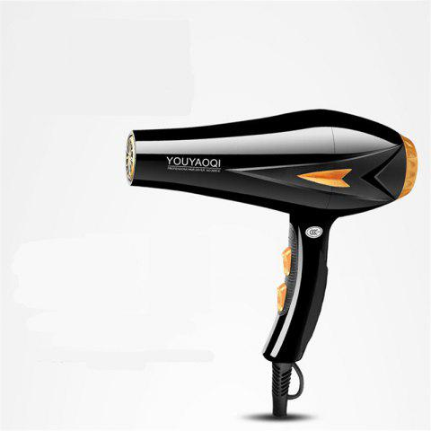 Hair Dryer Barbershop Power 2600W Hot and Cold Air - BLACK
