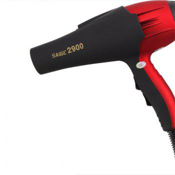 Hot and Cold Air Hair Dryer High Power Barbershop - RED
