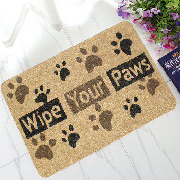 Bathroom Anti-Slip Doormat Mats - BROWN