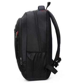 Multifunctional Backpack for Men's Computers - BLACK