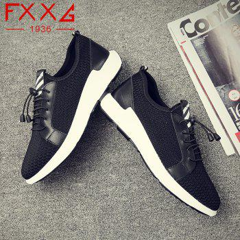 Sports Running Single Casual Shoes - BLACK 40