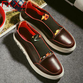 Fashion Flat Bottomed Single Casual Shoes - RED 40