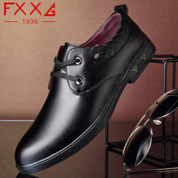 Flat Sole Casual Shoes - BLACK 40