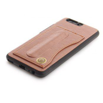 Case Cover for Huawei P10 Luxury PU Leather with Stand and Card Slots - ROSE GOLD