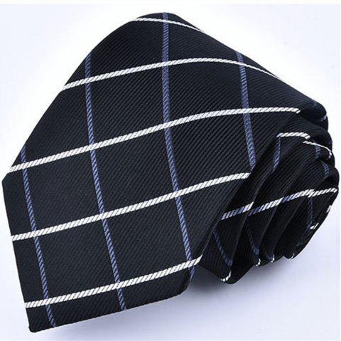 New fashion business tie men - BLACK LONG 145CM X WIDE 8CM
