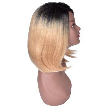 Hairyougo T5002A Medium Length Bobo Style Synthetic High Temperature Fiber Wig - BLONDE 16INCH
