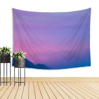 Clouds in Mountains Natural Scenery Tapestry - COLORMIX W39.4INCH*L59.1INCH