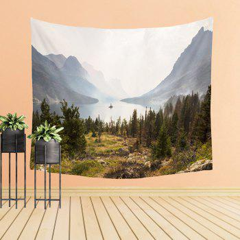 Natural Scenery Bedroom Tapestry Walls Adornment Sofa  Beach Blanket - COLORMIX W39.4INCH*L59.1INCH