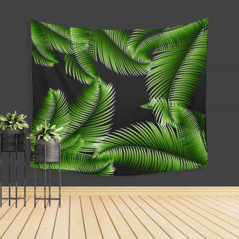 Palm Leaf Tapestry Wall Adornment Sofa Beach Blanket Tablecloth Bedspread - COLORMIX W39.4INCH*L59.1INCH