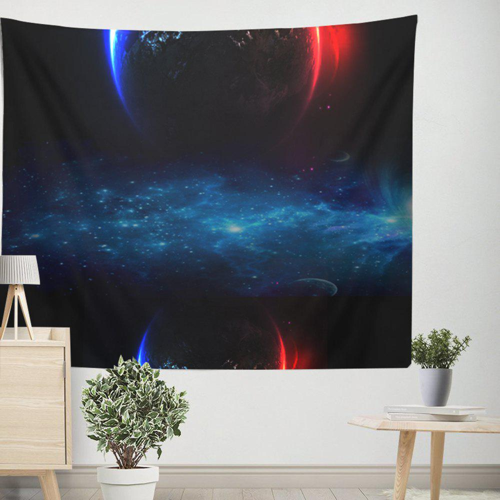 Vast Space Star Wall Tapestry  Adornment Sofa Beach Blanket - COLORMIX W39.4INCH*L59.1INCH