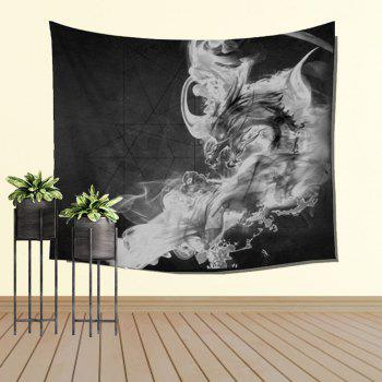 Chinese Dragon Hanging Wall Decoration Sofa Beach Blanket Bedspread - COLORMIX W39.4INCH*L59.1INCH