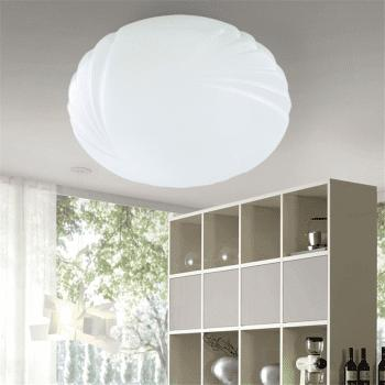 24 Watts Rounded LED Dome Light 35 Cm - WHITE
