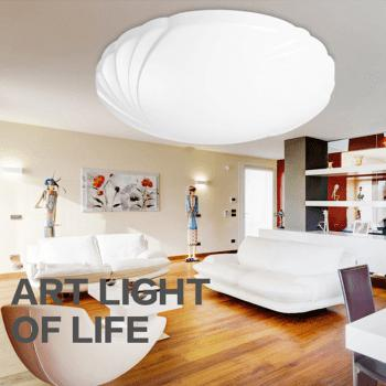 36 Watts Rounded LED Dome Light 40 Cm - WHITE