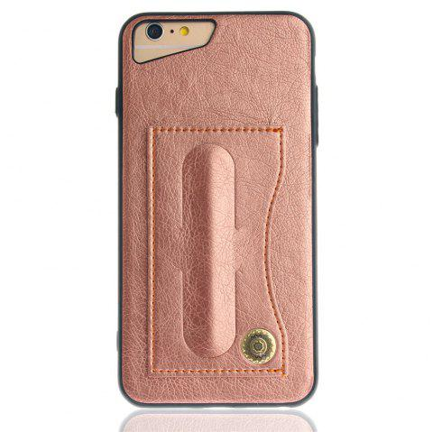 2019 leather bracket insert card cell phone shell for iphone 6 plusleather bracket insert card cell phone shell for iphone 6 plus 6s plus cases cover