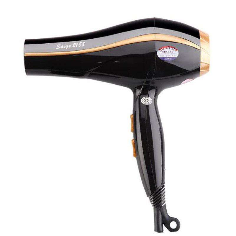 Household Hair Dryer Hot and Cold Air - BLACK
