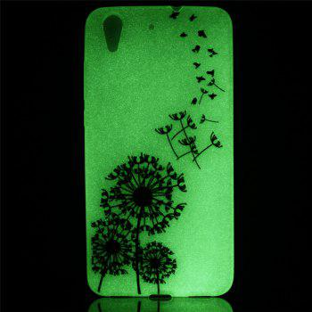 Cover Case for Huawei Honor 5A  Dream Dandelion Soft TPU Thin Transparent Noctilucence Cover Shell Case - COLOUR